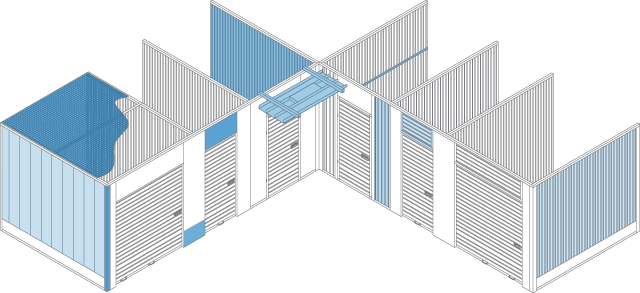 Self-Storage Layout