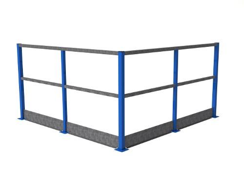 Standard steel banister